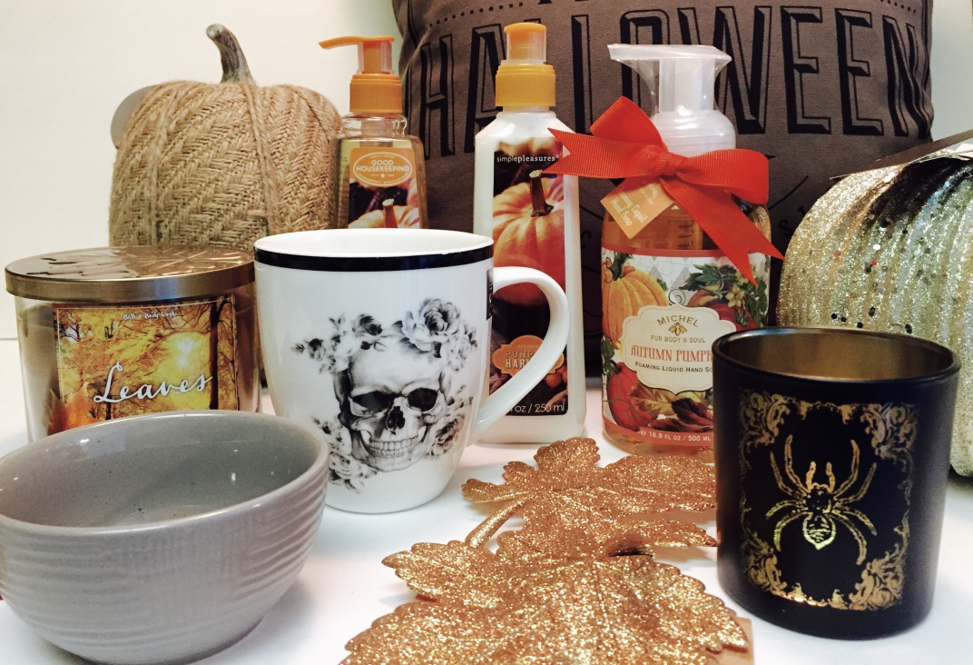 Fall home decor haul dollar tree homegoods target for Home goods fall decorations
