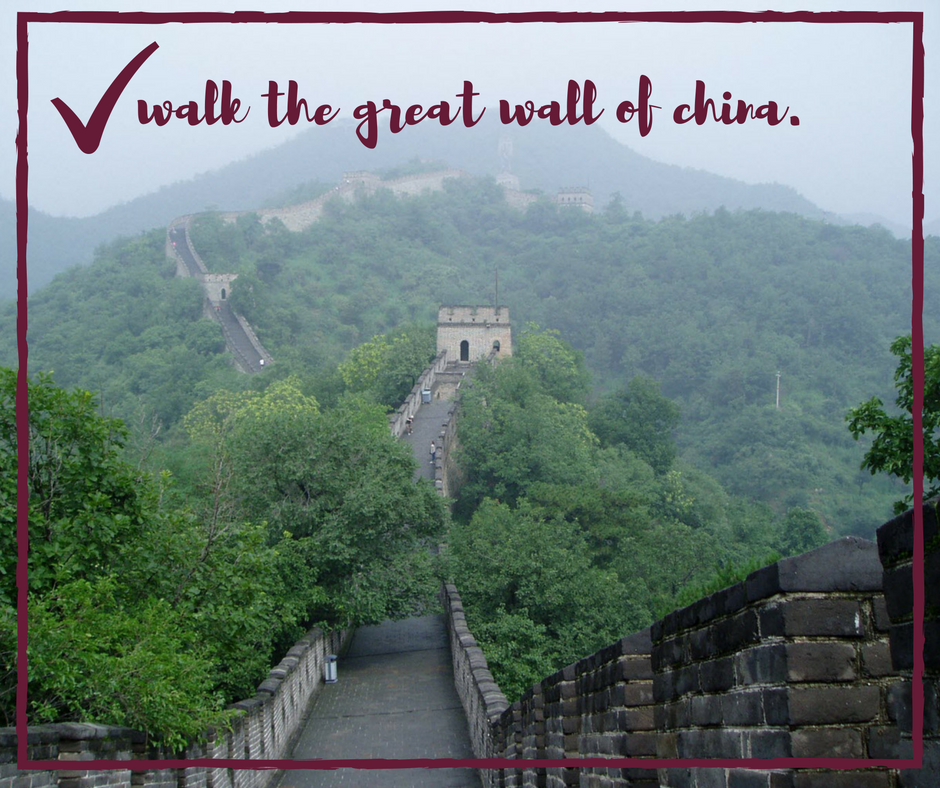 the great wall of china :: life list :: KarlaMae.com