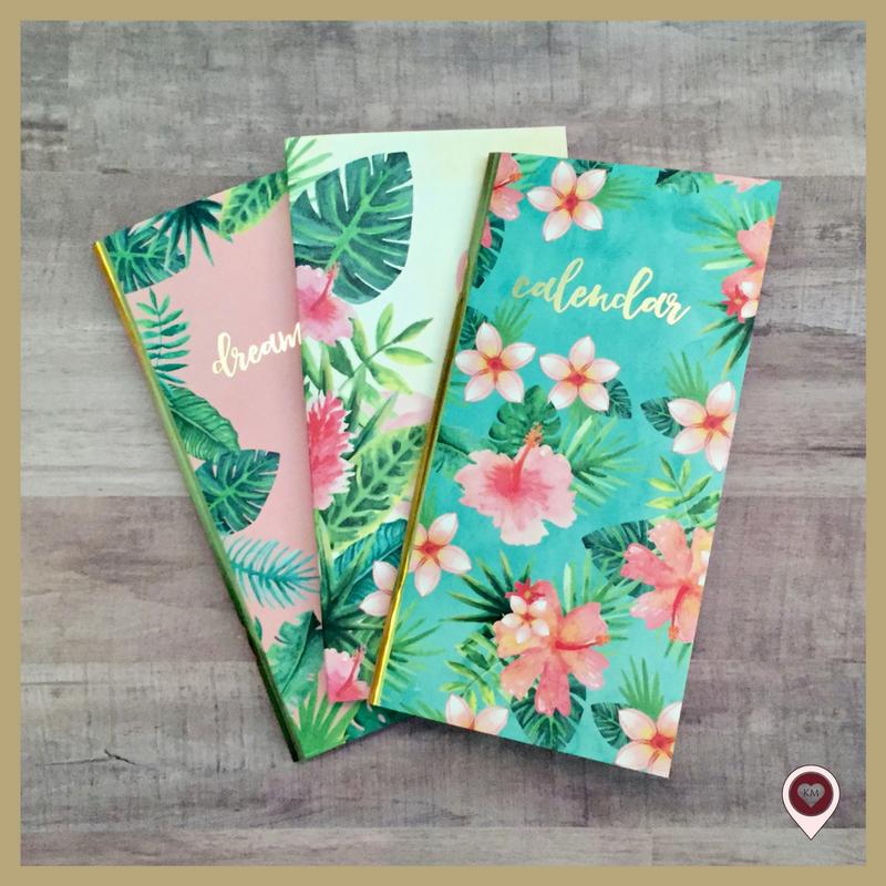 Tropical Life Traveler's Notebook TN Haul __ Karla Mae.com