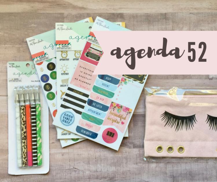 agenda 52 mini haul __ Karla Mae.com